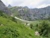 Alp Bergeten mit Höch Turm 2666m li; Felswand gegen Eggstock