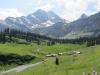 Alp  Oberstafel mit Ortsstock 2716m, Höch Turm 2666m