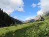 beim Aufstieg zum Hinterstaffel; Sicht gegen den Klausenpass; re Glatten  2505m
