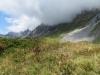 Sicht vom Rietstöckli 1848m auf Alp Fritteren
