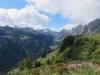 Blick auf den Klausenpass; Chli Clariden 3191m, Chamliberg 3214m, Glatten 2505m
