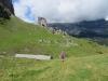 unterwegs in malerischer Landschaft; Tüfels Chilchli