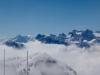 Bristen 3072m, Gitschen 2540m, Rotgitschen 2673m,  Brunnistock 2952m, Urirotstock  2928m, davor Schlieren
