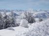 winterliche Verhältnisse auf der Rigi