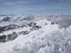 winterliche Verhältnisse auf der Rigi; vo Buochserhorn, Stanserhorn, Pilatus