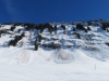 die Schneerutsche  am Schindlenberg
