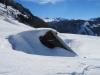 Lawinenschaden auf der Alp Ahorn 1365m
