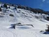 die Schneerutsche  am Schindlenberg; Lawinenschaden auf der Alp Ahorn 1365m