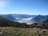 Sicht von der Haggenegg 1414m;