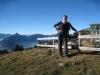 Bruni am Aussichtspunkt Haggenegg 1414m