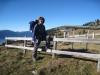 Marianne  am Aussichtspunkt Haggenegg 1414m