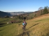 beim Abstieg vom Mostelberg