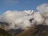 Wolken vor Kreuzboden und Fletschhorn