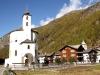 die Rundkirche von Saas Balen