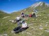 Rast auf Edelweiss - Wiese; Munt Chavagl 2442m