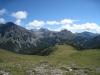 Piz Nair 3010m,  Val Nüglia, Piz Tavrü 3168m, Munt da la Bescha 2773m, Piz Terza 2909m