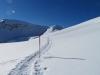 unterwegs gegen die Üsseri Alp