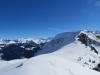 Blick vom Tüfengrat 1858m auf: re Wilerhorn 2305m