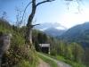 hinunter ins Tal; Drusenfluh und Sulzfluh