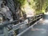 Sägenbrücke im Tal des Schraubbaches
