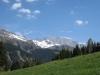 Sicht von Salfsch 1288m auf Girenspitz und  die Drusenfluh