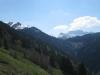 Blick gegen li Chüenihorn, Sarotlaspitzen, Eggberg und Rätschenhorn