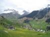 St. Antönien mit Schollberg 2570m, Gämpiflue 2390m, Eggberg 2202m