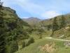 der Weg hinauf zur Alp Pfanni