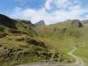 auf der Höhe der Alp Im Obersten Breitenfeld; Schwarzhorn 2928m, Wildgärst 2890m,P.2685m, P. 2713m; vorne: Am Hängenden Wang