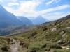 Blick auf die Grosse Scheidegg; Mettenberg und Eiger 3970m