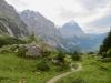 beim Abstieg zum Ob.Gletscher; Mettenberg und Eiger