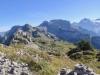 Loucherhorn 2231m,  Schwarzhorn 2373m, Ussri Sägissa 2423m, Winteregg 2561m,  Bira 2453m,  Wellhorn 3192m, Wetterhorn 3704m, Mittelhorn 3704m, Bärglistock 3656m