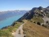 der Höhenweg zm Oberberghorn; Brienzersee; Oberberghorn 2069m, Rote Flue 2295m, Loucherhorn 2231m, Ussri Sägissa 2423m