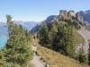 der Höhenweg zum Oberberghorn 2069m