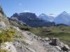 Ussri Sägissa 2423m, Winteregg 2561m,  Bira 2453m,  Wellhorn 3192m, Wetterhorn 3704m, Mittelhorn 3704m, Bärglistock 3656m, Kl.Schreckhorn 3494m,  Schreckhorn 4078m, Lauteraarhorn 4042m,