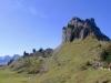 Blick zurück auf das Oberberghorn 2069m; hi Lauterbrunnen Breithorn