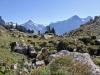 Bira 2453m, Bärglistock 3656m, Kl.Schreckhorn 3494m,  Schreckhorn 4078m, Lauteraarhorn 4042m, Finsteraarhorn 4275m, Fiescherhorn 4049m, Eiger 3970m, Mönch 4099m