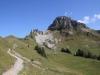 Blick zurück auf Loucherhorn 2231m,