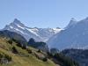 Schreckhorn 4078m, Lauteraarhorn 4042m, Finsteraarhorn 4275m