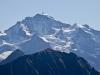 vo Männlichen und Jungfrau 4158m mit Silberhorn
