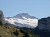 Bärglistock 3656m mit Gletscher im Zoom