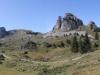 Panorama:  Gumihorn 2099m, Tuba 2076m, Oberberghorn 2069m