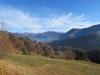 Herbstbild; Landschaft bei Seewis; Fadärastein