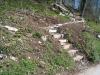 ein neuer steiler Wanderweg