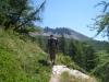 Blick auf die Berge Italiens