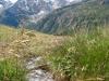 Sicht von der Alp Balma auf Fletschhorn, Böshorn