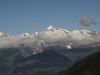 Schinhorn , Sattelhorn, kl.Aletschhorn, Aletschhorn, Geisshorn, Dreieckshorn