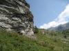 Hütte auf der Alp Balma 2031m