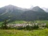 Sicht auf Simplon Dorf