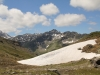 Sicht vom Bistinenpass  2386m gegen Nanztal